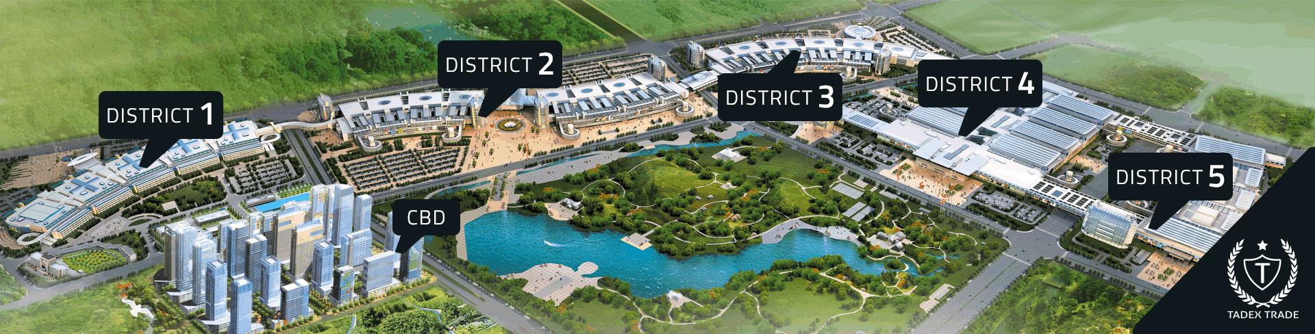 Yiwu Market China Districts