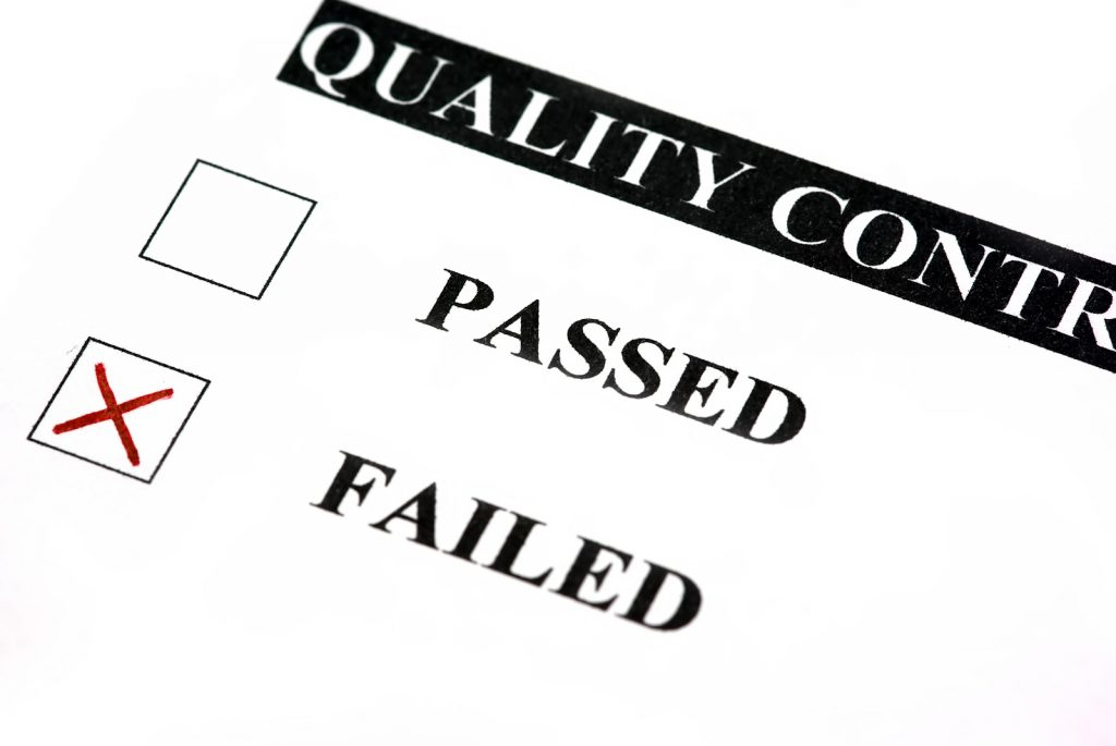 quality control issue management